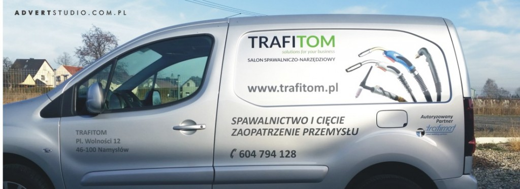 oklejanie aut Opole-advert reklama