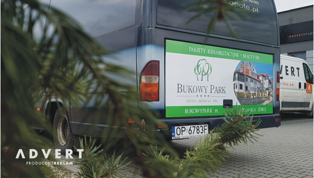 oklejanie aut advert Bukowe