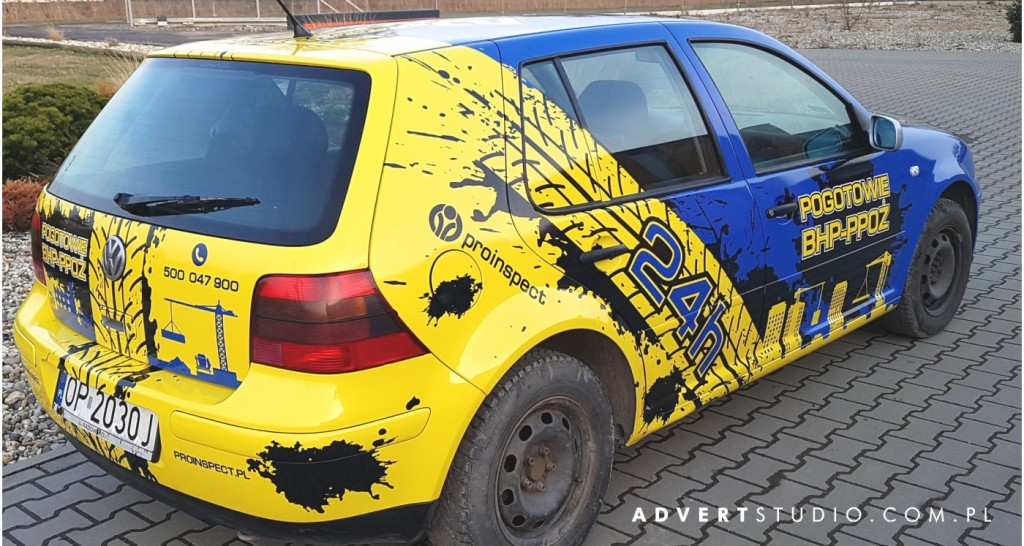 oklejanie aut advert reklama