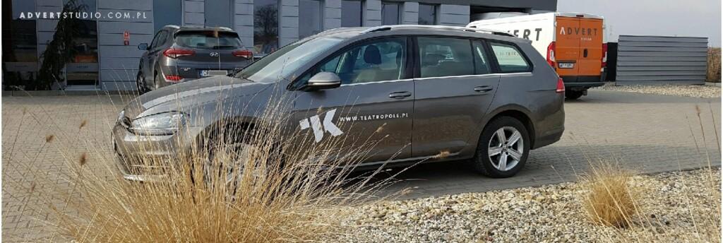 oklejanie aut teatr kochanowskiego advert
