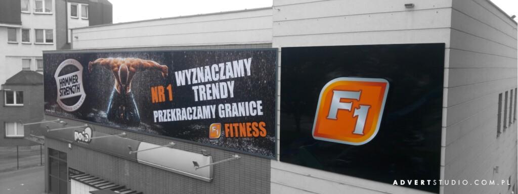 oznakowanie silowni F1 -producent solidnej reklamy-advert