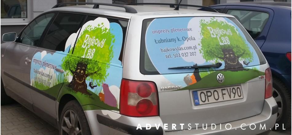 pklejanie samochodow advert reklama opole