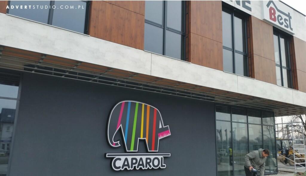 reklam swietlna LED CAPAROL - advert reklama opole