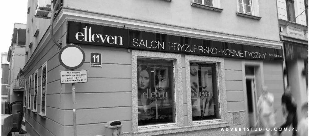 Kaseton szyld salonu sryzjerskiego .Advert rEKLAMA Opole