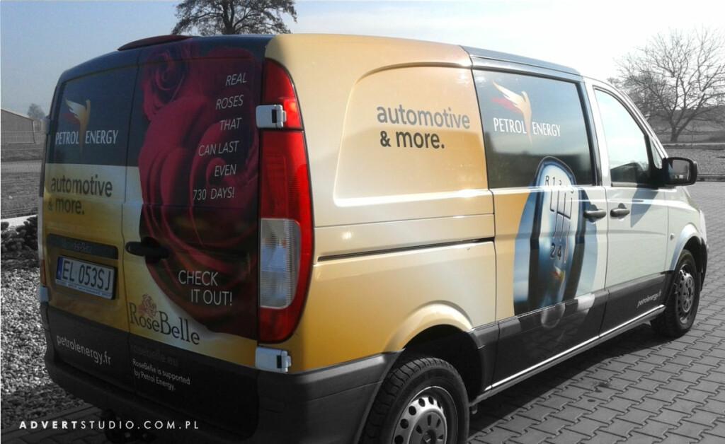 Petrol Energy -oklejania floty aut-Advert Reklama Opole