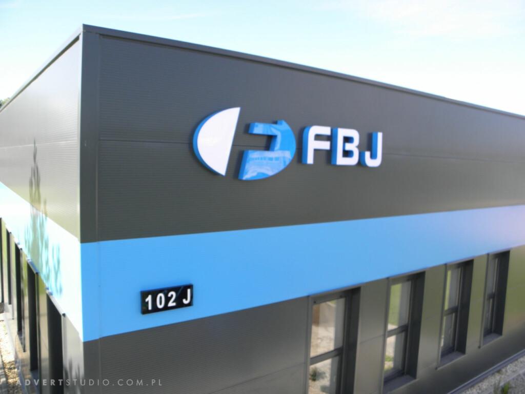 Oznakowanie obiektu FBJ -Advert Opole