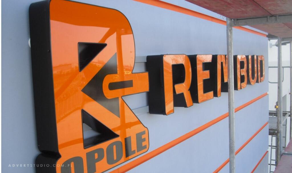 litery aluminiowe-REMBUD -Advert Opole
