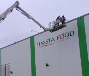 Pasta Food .Advert reklama Opole