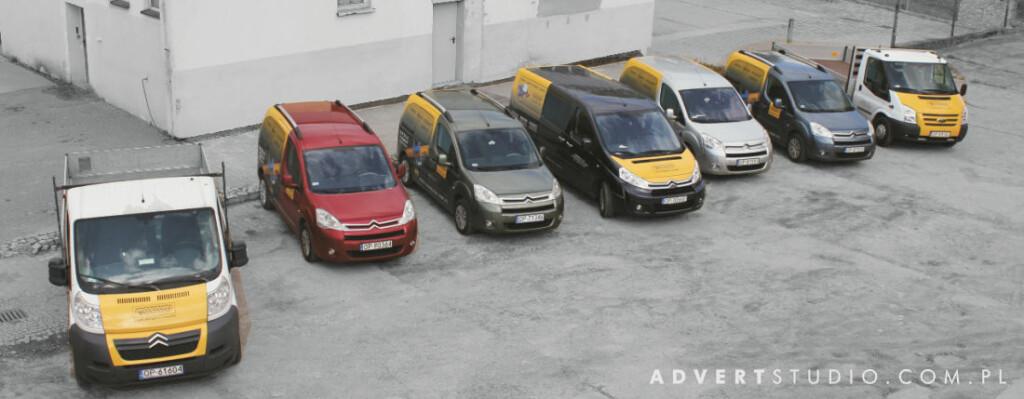 Oklejanie floty aut-Transrem-Advert Re