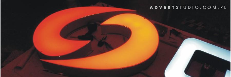 litery podswietlane LED - advert reklama opole
