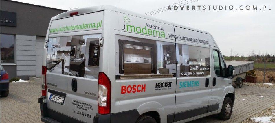 oklejanei samochodow - advert reklama opole