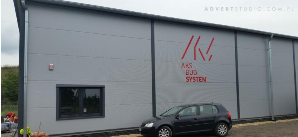 oznakowanie hali literami z aluminium kompozytoweg0 advert -reklama Opole