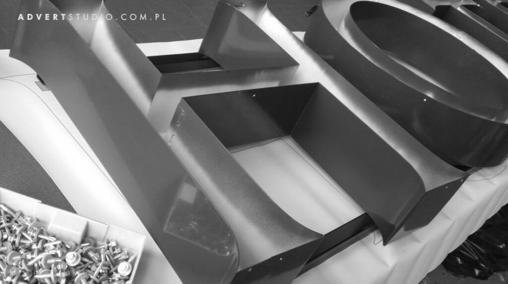 litery aluminiowe p5-advert reklama