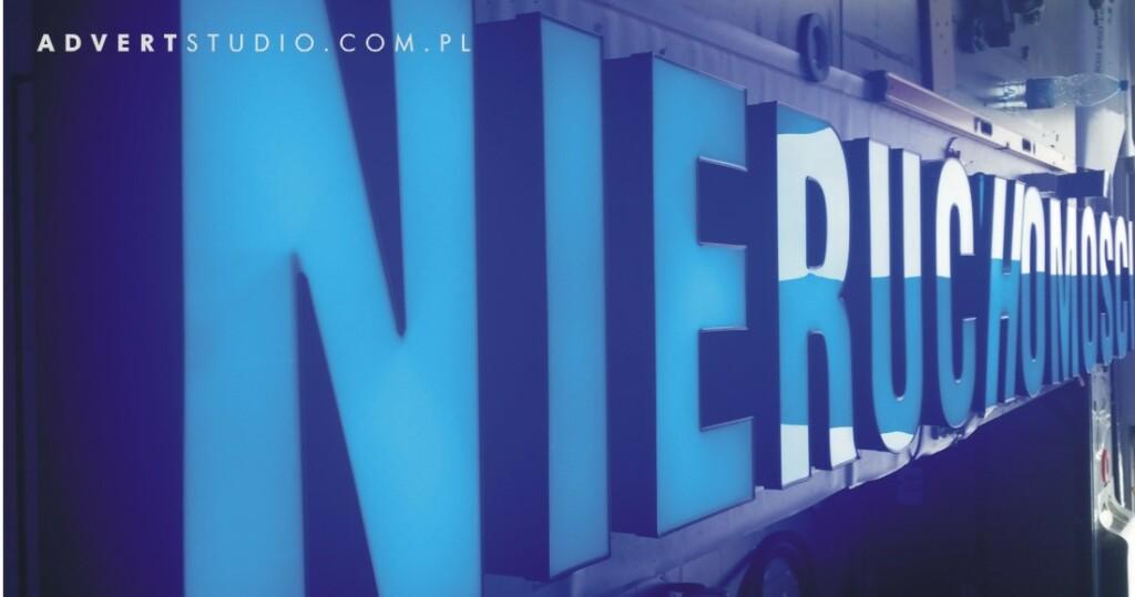 litery podswietlane led-advert