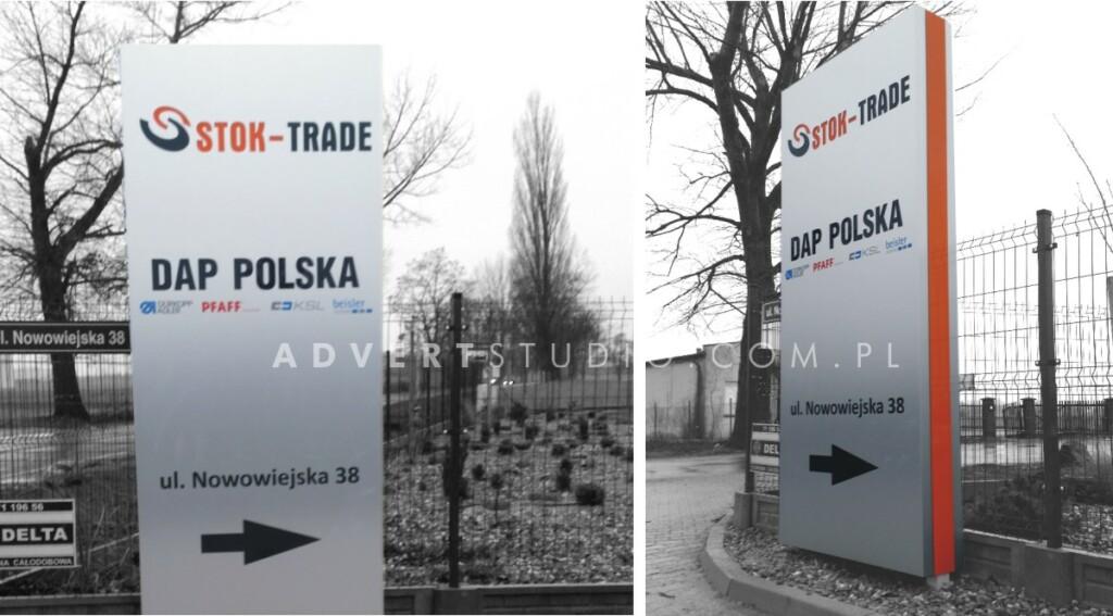 pylon kierunkowy-producent pylonow Advert Opole