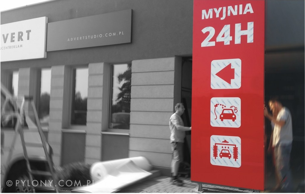 pylon-myjnia-24h-advert-producent-reklam-opole