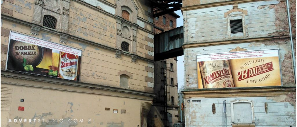 REKLAMA -browar namyslow-advert reklama Opole