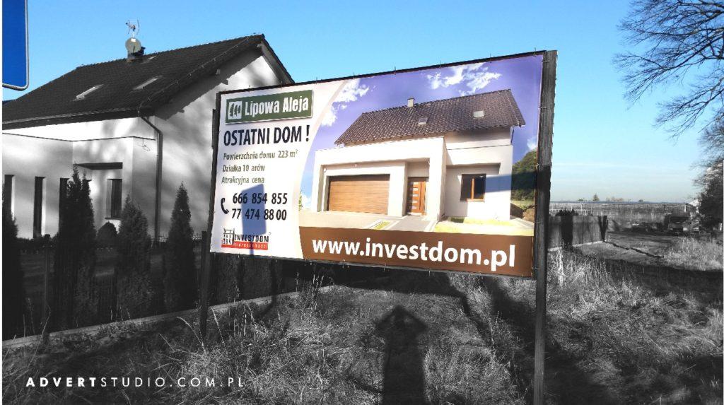 TABLICA REKLAMOWA - advert reklama Opole