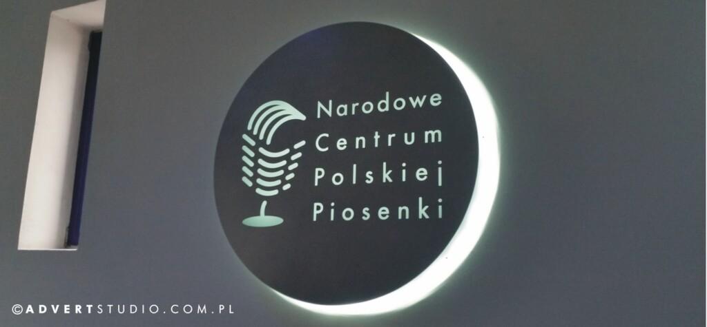 LOGO NARODOWE CENTRUM PIOSENKI W OPOLU-ADVERT REKLAMA OPOLE