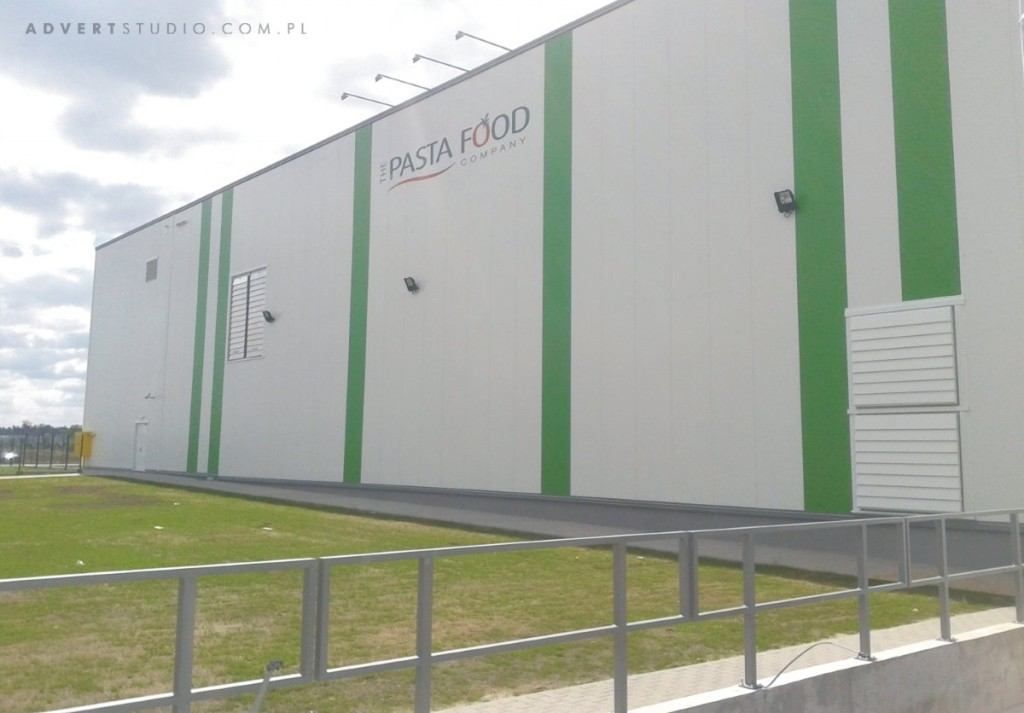 oznakowanie-hali-pasta-food-opole-advert-producent-reklam
