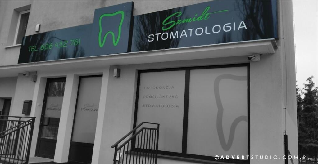 oznakowanie stomatologi - reklama dla stomatologii - producent reklam swietlnych asdvert reklama opole