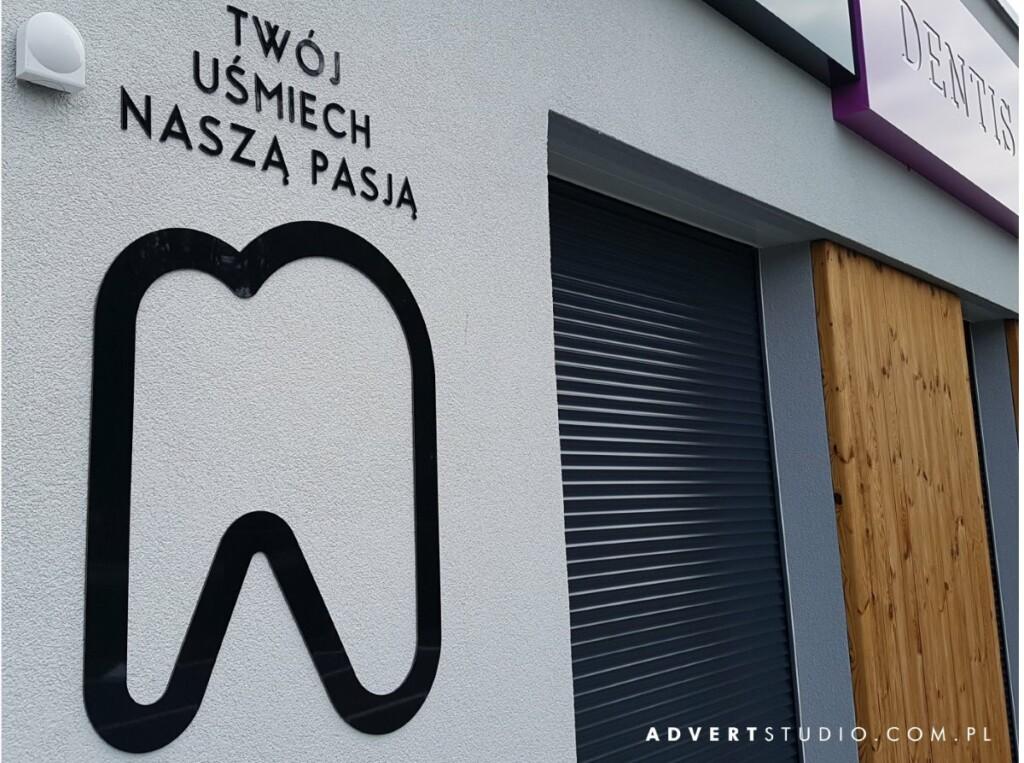 oznakowanie budynku - identyd=fikacja wizualna -advert reklama opole