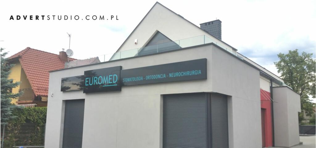 oznakowanie firm - euromed opole advert reklama