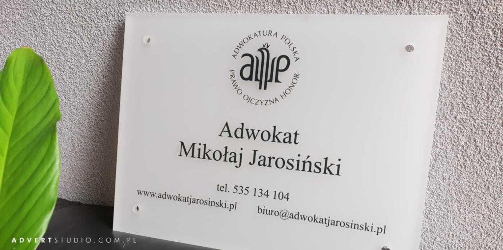 tabliczka kancelaryjna
