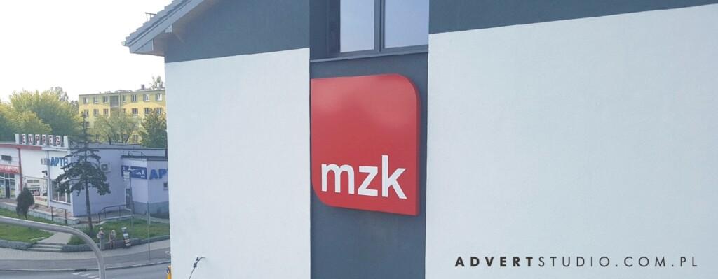 oznakowanie mzk- advert