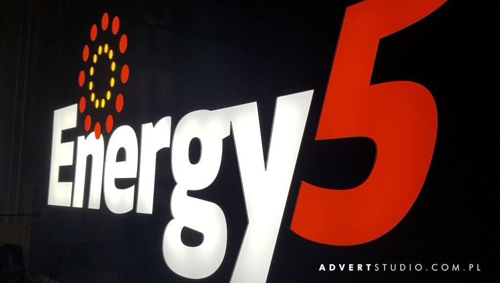 podswietlenie led -advert