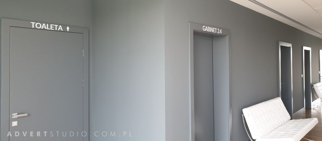 oznakowanie drzwi medin