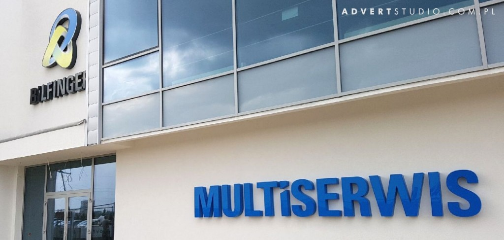 LITERY PRZESTRZENNE led mULTISERWIS-advert reklama opole