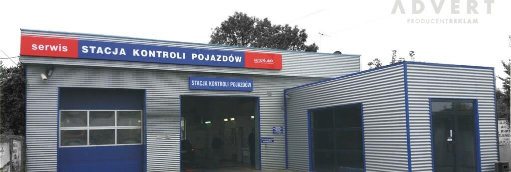 Stacja kontroli pojazdow- reklama Opole Advert