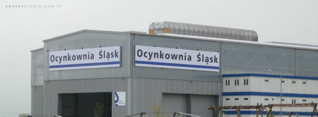 oznakowanie hali Ocynkowni Slask Seppeler Gruppe Kluczbork -ADVERT