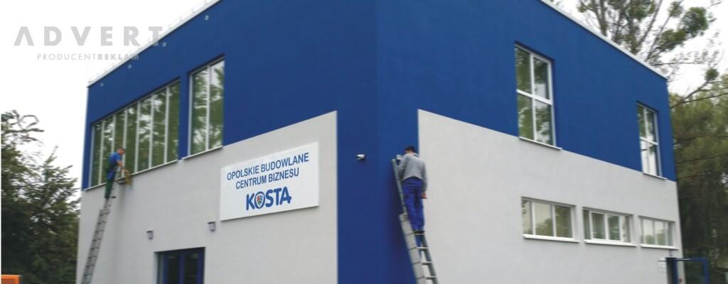 oznakowanie opolskiego budowlanego centrum biznesu -opolskie - producent reklam advert