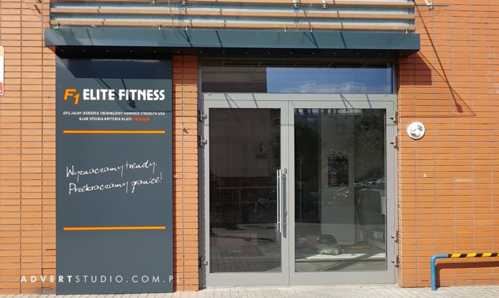reklama siłowni