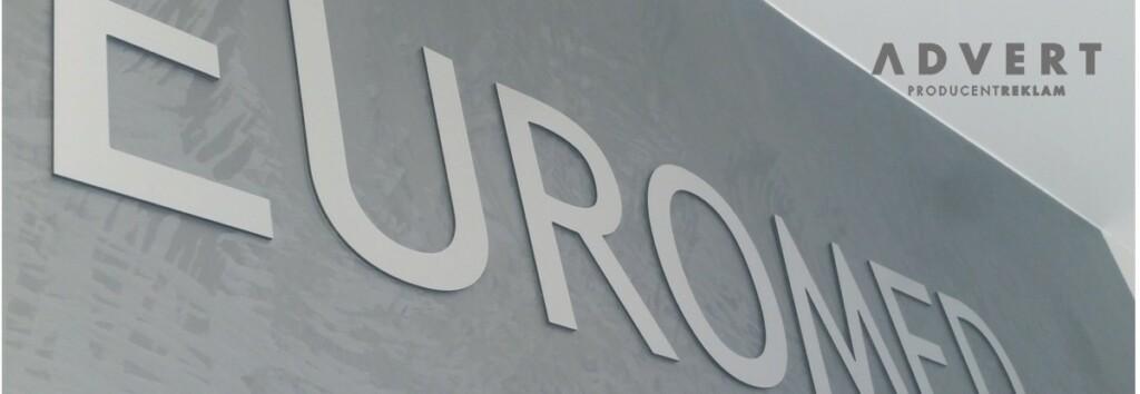 logowanie recepcji litery z aluminium -reklama Advrt Opole