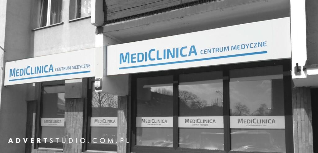 reklama wizualna Medi Clinica centrum medyczne - produkcja reklam advert reklama Opole