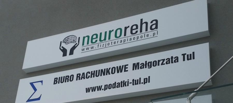 Kasetony podswietlane Neureha - advert producent reklam
