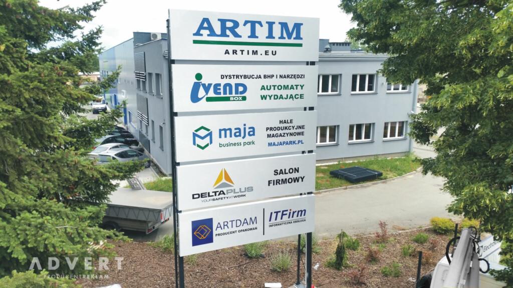 pylon artim - producent pylonow advert