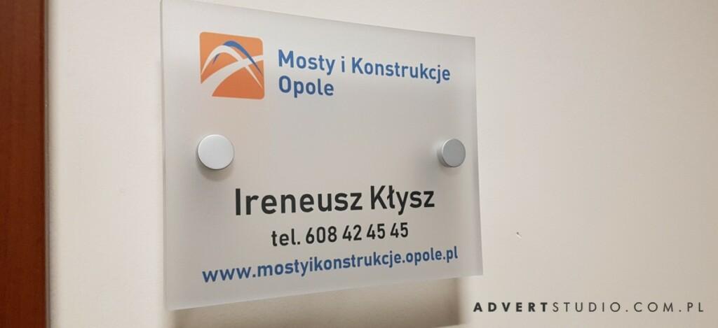tabliczka przy drzwiowa advert