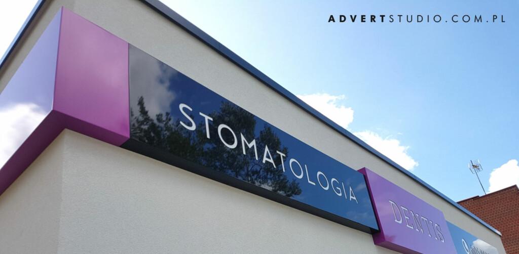 oznakowanie stomatologii-advert reklama