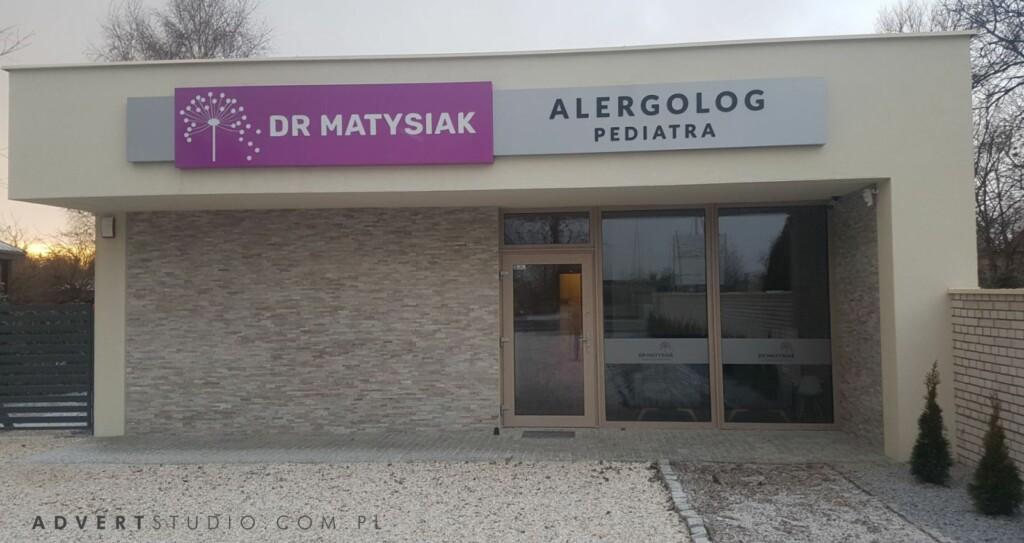 OZNAKOWANIE KLINIKI Matysiak