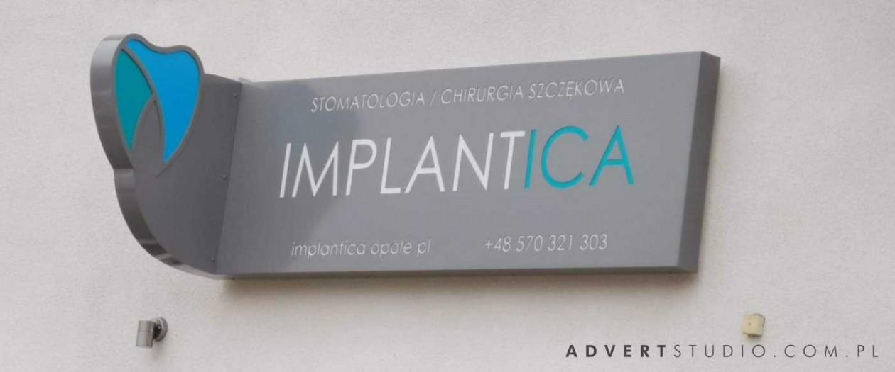 KASETON ŚWIETLNY dla Implantologii Implantica