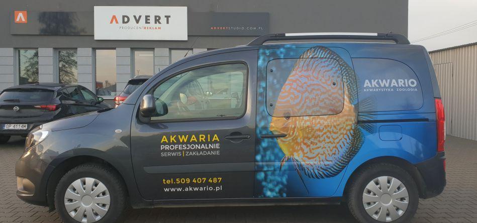 oklejanie auta Akwario