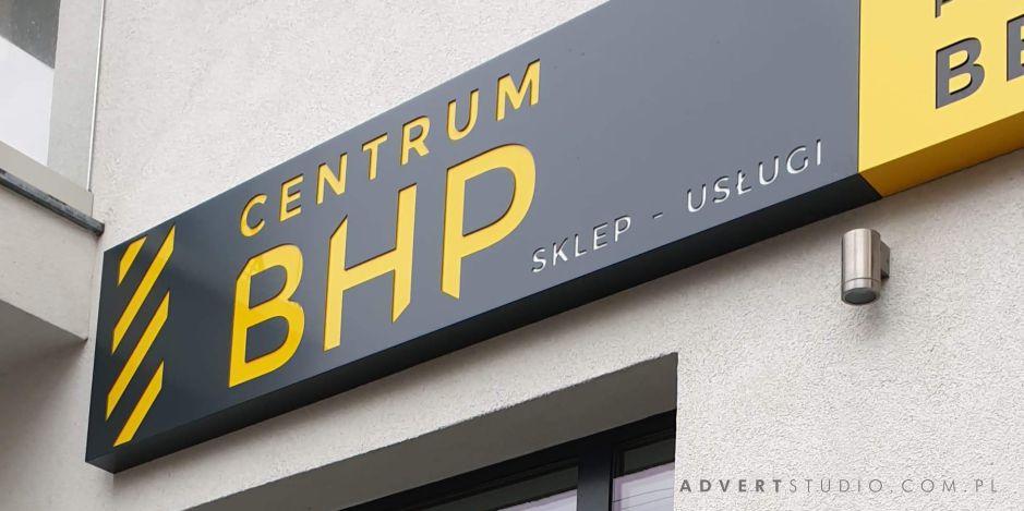 oznakowanie sklepu BHP
