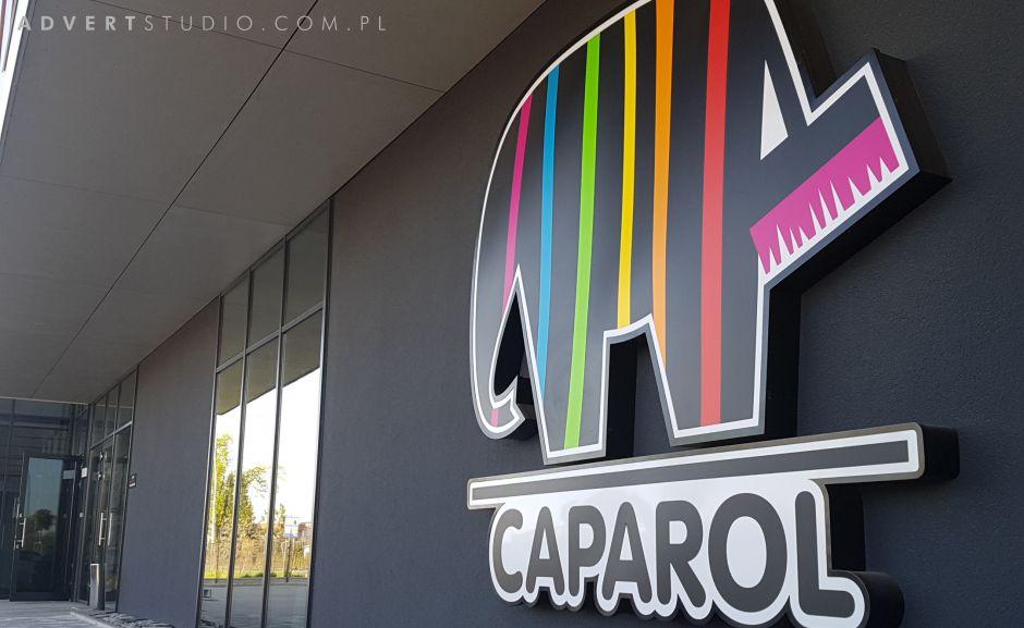 reklama świecąca Caparol