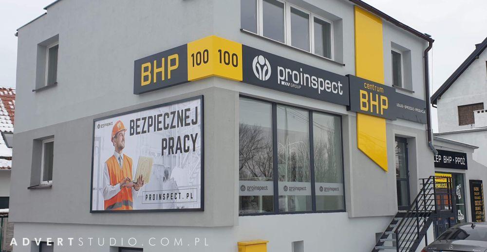 oznakowanie centrum BHP