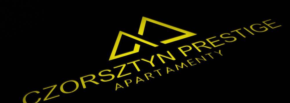 szyld reklamowy Apartamenty Czorsztyn Prestige